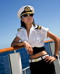 Captain on Cruise Ship